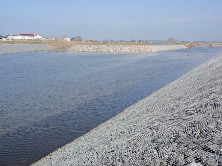 桜川護岸整備